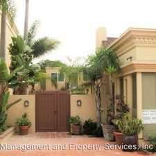 Rental info for 1121-1129 Torrey Pines Road in the Village area