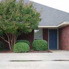 Rental info for 2300 Wildewood - B # B in the 76548 area
