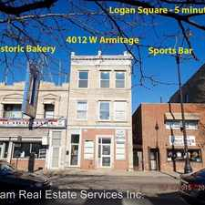 Rental info for 4012 W. Armitage in the Logan Square area