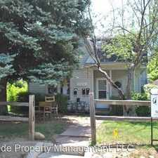 Rental info for 2244 Goss Circle East in the Boulder area