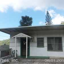 Rental info for 2488 Waiomao Road - 2488 Waiomao Road # A Downstairs in the Palolo area