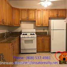 Rental info for 1438 Liliha Street #110 in the Honolulu area