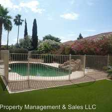 Rental info for 8717 E. San Ardo Dr.