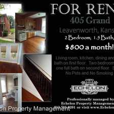 Rental info for 405 Grand