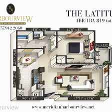 Rental info for Meridian Harbourview 7190 Harbour Towne Parkway South
