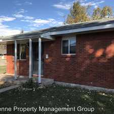 Rental info for 1215 Monroe Ave - #1 in the Cheyenne area