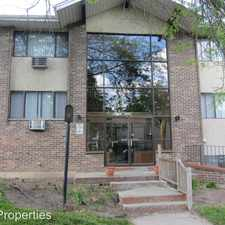 Rental info for 1230 E. Singer Cir. #13 in the Riverwest area