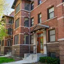 Rental info for 5233-37 S. Greenwood (1100-1110 E. 53rd St) in the Hyde Park area