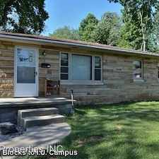 Rental info for 2624 E 7th Street in the Bloomington area