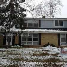 Rental info for 1800 Manhattan Drive in the Waukesha area