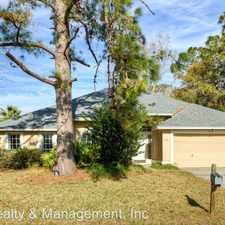 Rental info for 8953 Sable Creek Drive in the Jacksonville area