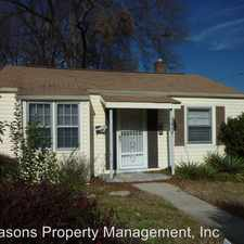 Rental info for 819 Matheson Avenue in the Charlotte area
