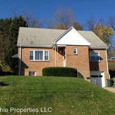 Rental info for 145 Circle Drive in the Weirton area
