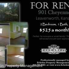 Rental info for 901 Cheyenne