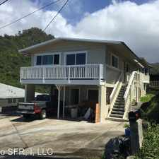 Rental info for 1576 Pahulu Street - Back House in the Honolulu area