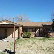 Rental info for 5406 23rd Street in the Lubbock area