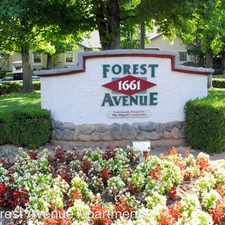 Rental info for 1661 Forest Avenue