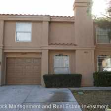 Rental info for 2825 Crystal Lantern Dr. in the Green Valley South area