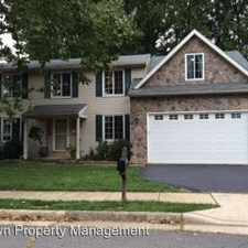 Rental info for 4312 LAMARRE DRIVE in the Fairfax area