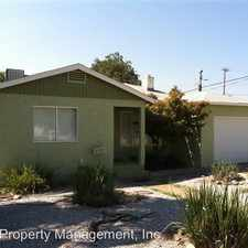 Rental info for 2529 Placer St.