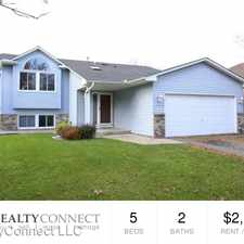 Rental info for 10987 Brittany Drive N in the Coon Rapids area