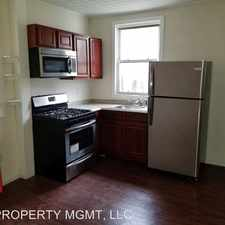 Rental info for 203 HARRISON STREET - 2ND FL in the Paterson area
