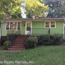 Rental info for 314 Hickory St.