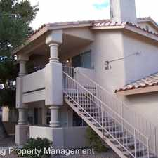 Rental info for 913 Boulder Springs Drive #201 in the Las Vegas area