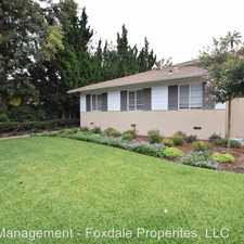 Rental info for 495 S. Madison Avenue in the Pasadena area