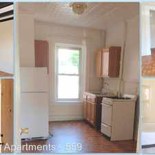 Rental info for 559 Broadway in the Newark area