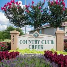 Rental info for Country Club Creek in the Austin area
