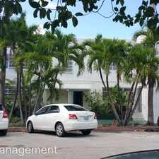 Rental info for 6970 Indian Creek Dr Apt 3 in the Miami Beach area