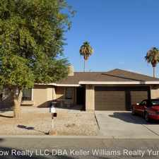 Rental info for 12352 E. Camino Loma Vista in the Fortuna Foothills area