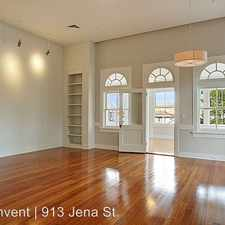 Rental info for 913 Jena in the Uptown area