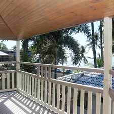 Rental info for A TRUE NORTH QUEENSLAND BEACH COTTAGE in the Cairns area