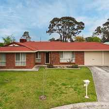 Rental info for Spacious 4 Bedroom Home in the Mount Barker area