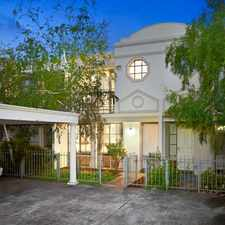 Rental info for Contemporary, private, secure, functional and perfectly placed! in the Caulfield North area