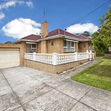 Rental info for GREAT FAMILY LIVING, CENTRAL LOCATION in the Yallambie area