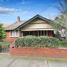 Rental info for Walk to Monash University in the Caulfield East area