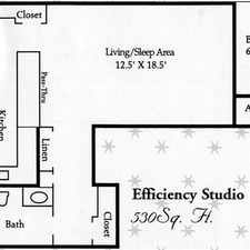 Rental info for $625 / Studio - Great Deal. MUST SEE. Covered parking! in the Alvarado Park area