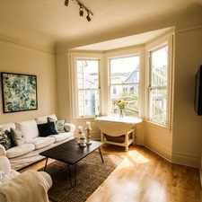 Rental info for 236 Carl Street in the Parnassus Heights area