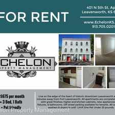 Rental info for 401 N 5th - Unit F