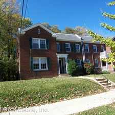 Rental info for 2216 40th Place, NW #2 in the Arlington area