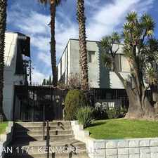 Rental info for 1171 Kenmore Ave. 23 in the Greater Griffith Park area