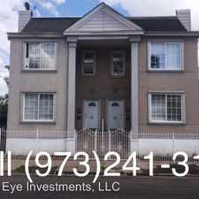 Rental info for 252 Clinton Place 1R in the Weequahic area