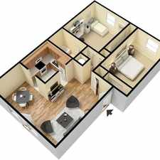 Rental info for Large efficiency with separate bedroom/bathroom.