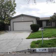 Rental info for 17258 Boswell Pl.