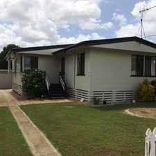 Rental info for 3 Bedroom Family Home on a Quiet Street, yet still so close to EVERYTHING! in the Bundaberg area