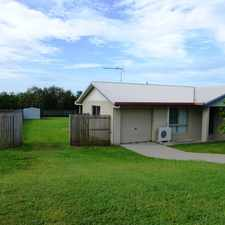 Rental info for AIRCONDITIONED 3 BEDROOM HOUSE PLUS STUDY WITH LARGE PET FRIENDLY BACKYARD in the Eimeo area