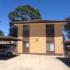 Rental info for Perfect Starter or Student Accommodation in the Adelaide area